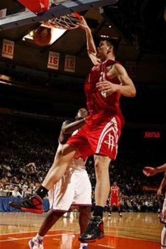 Yao Ming Dunk Without Jumping Shack Basketball Playe...
