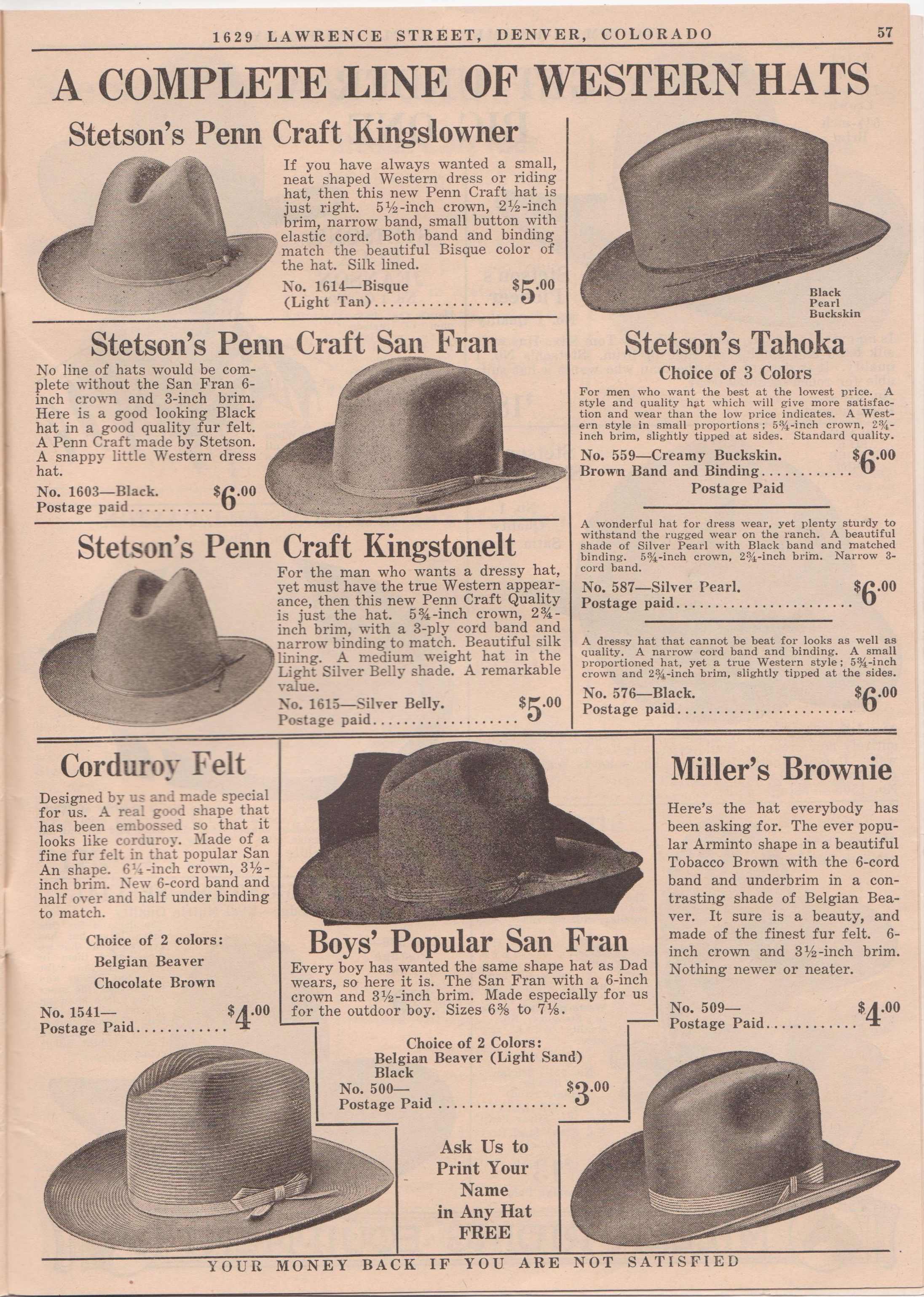 50247612 Miller-Stockman Catalogs | Page 2 | The Fedora Lounge