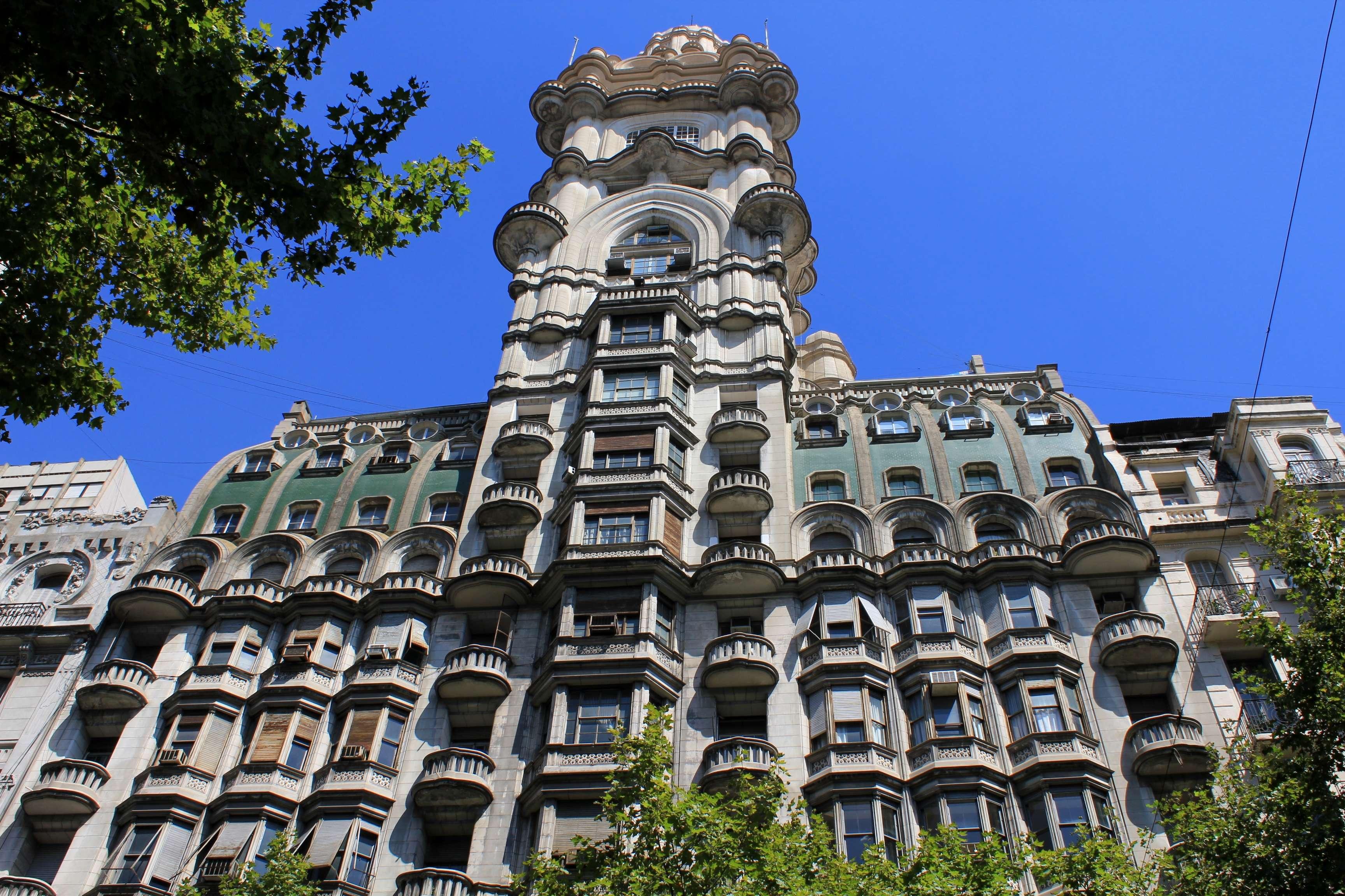 Art Deco Decorations Palacio Barolo Dante In Buenos Aires